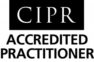 Accredited Practitioner, registered with the Chartered Institute of Public Relations.